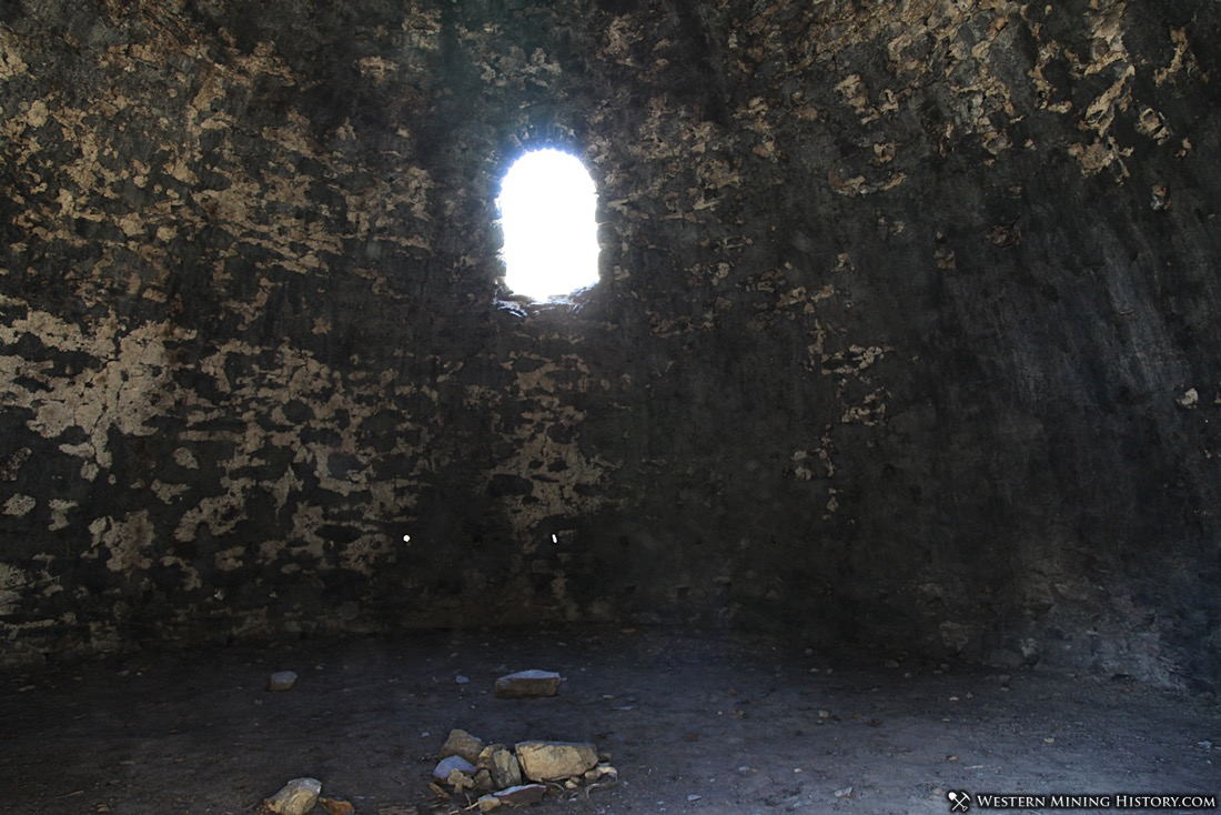 Interior View of the Wildrose Charcoal Kilns