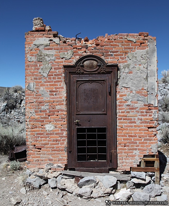 The vault of the Bodie Bank