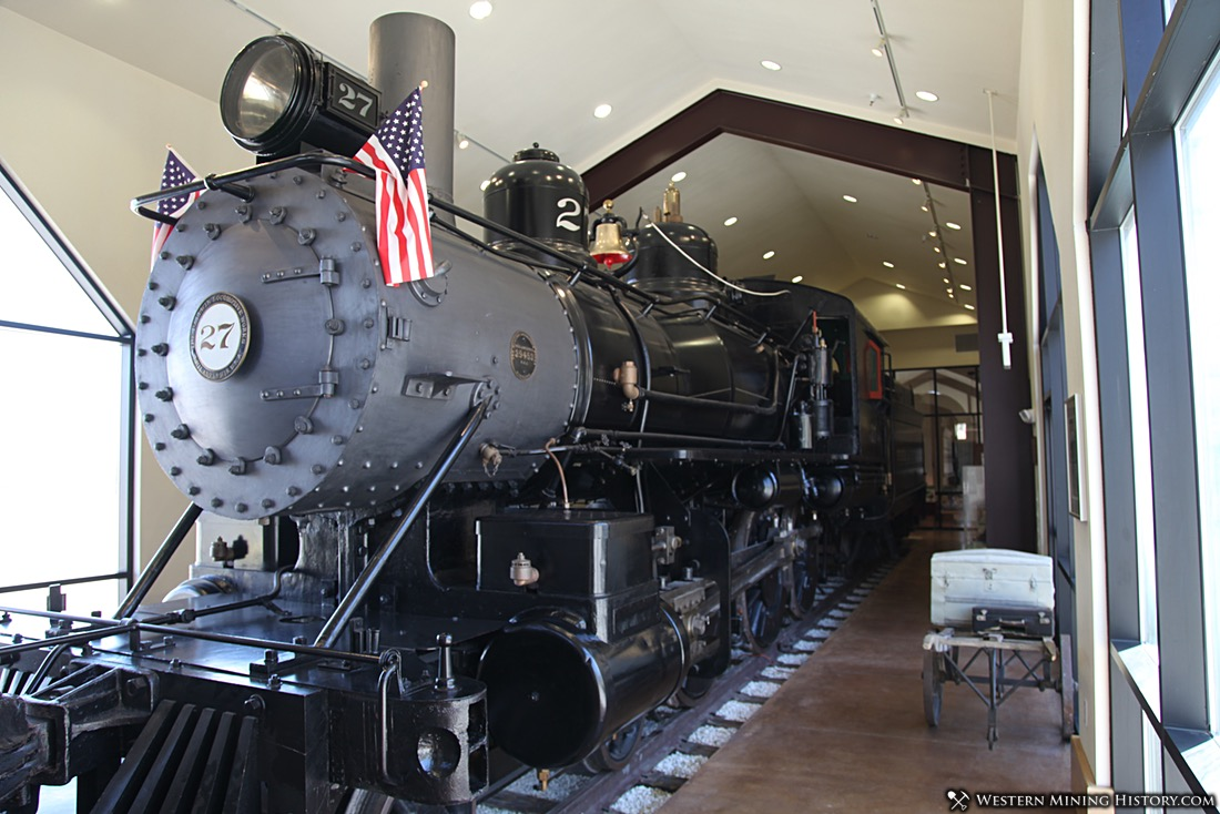 Virginia and Truckee Railway Locomotive No. 27