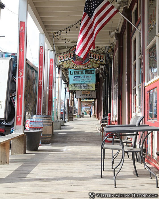 The Boardwalk on C Street in Virginia City