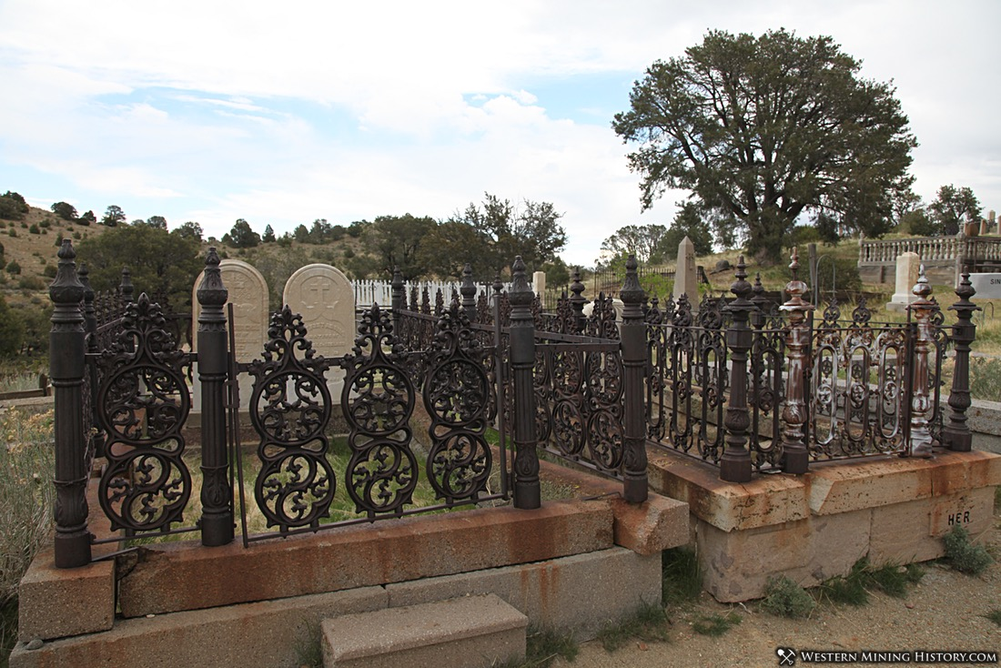 Silver Terrace Cemetery in Virginia City