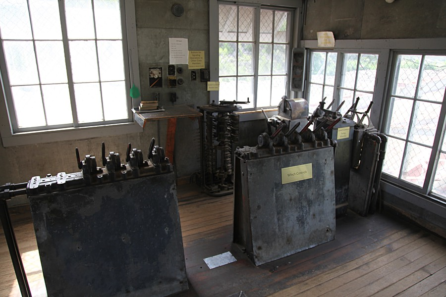 Control Room of the Yankee Fork Dredge