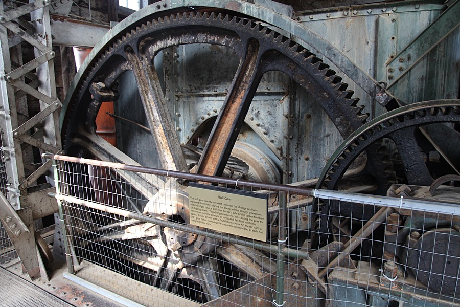 Bull Gear of the Yankee Fork Dredge