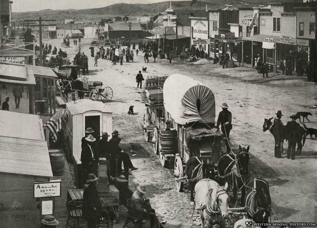 View of Tonopah, Nevada in 1903