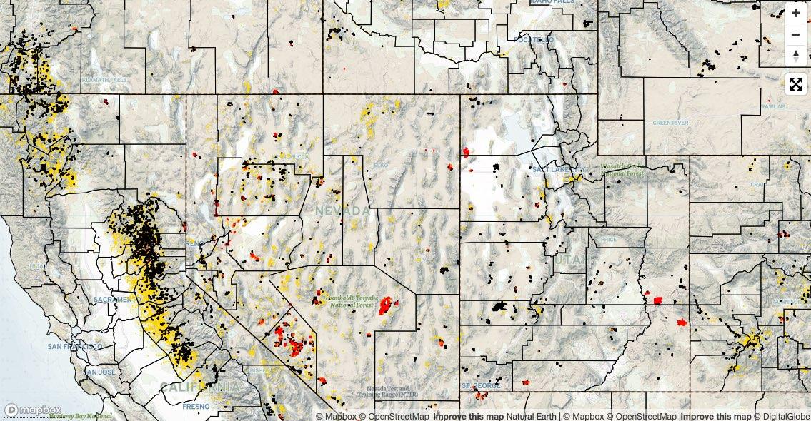 Western Mining History Gold Explorer