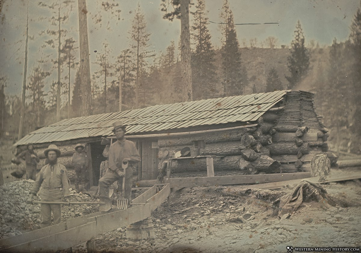 Miners Cabin - Nevada County, California 1852