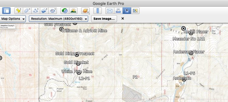 WMH Gold Discovery Tools for Google Earth Pro