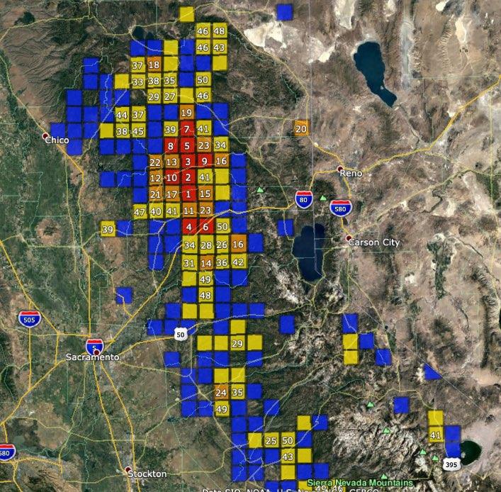 Sierra Nevada Gold Region