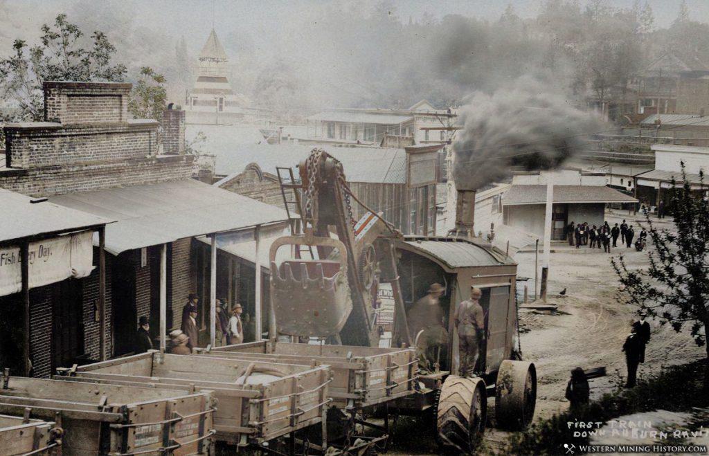 Auburn, California Steam Tractor ca. 1910