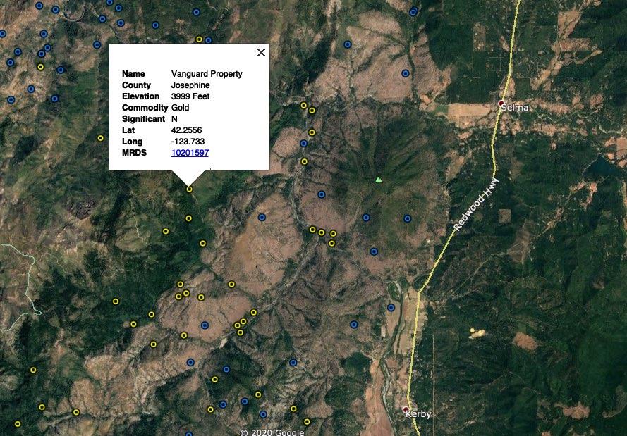Josephine County Oregon Mines