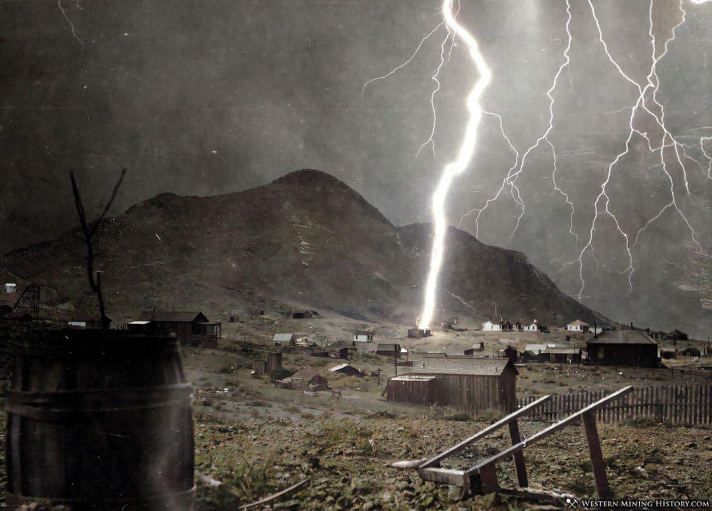 1904 Tonopah, Nevada Lightning Storm