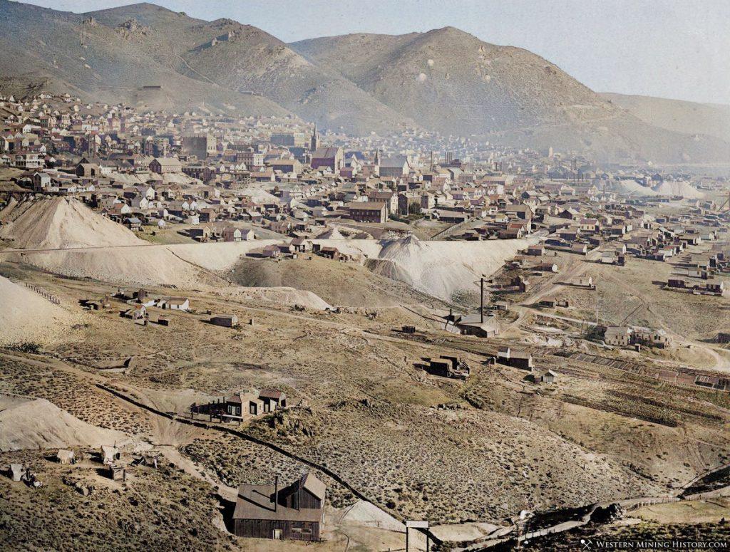 Virginia City, Nevada ca. 1878