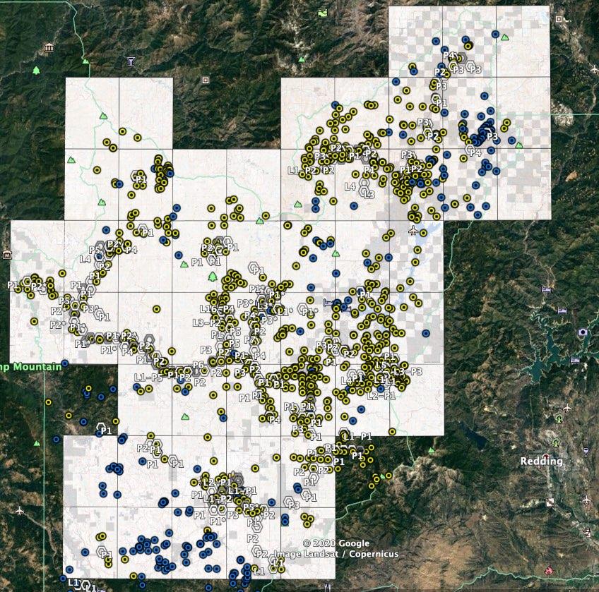 Trinity County California Mines