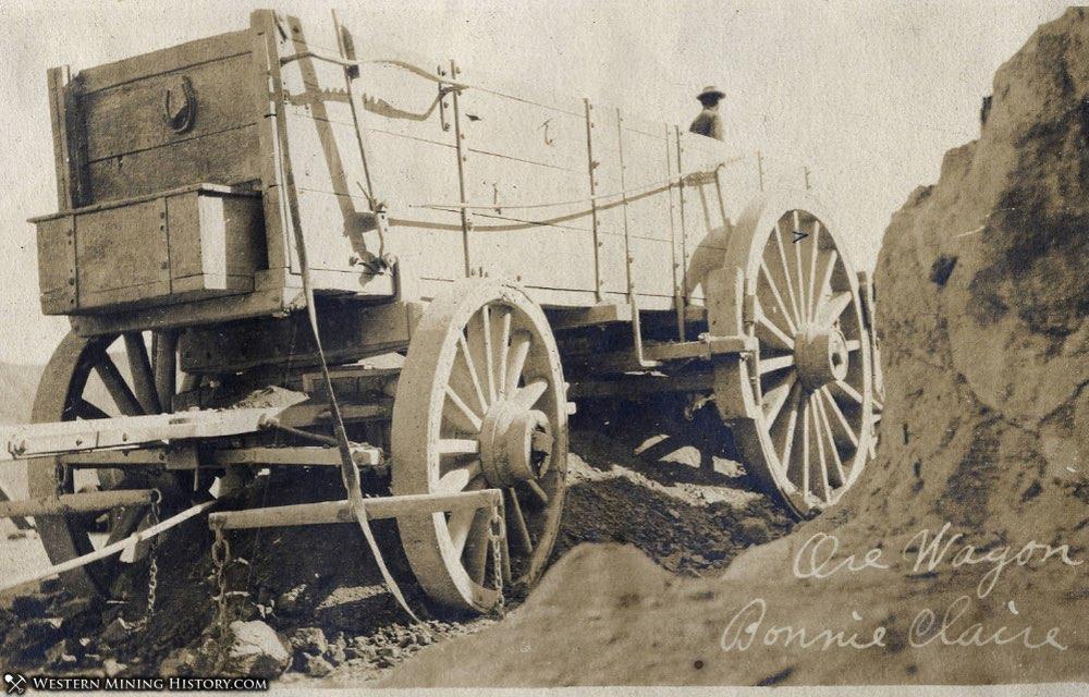 Ore Wagon at Bonnie Claire, Nevada