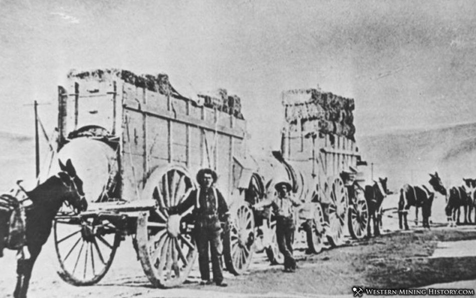 Remi Nadeau's Freight Operation ca. 1875