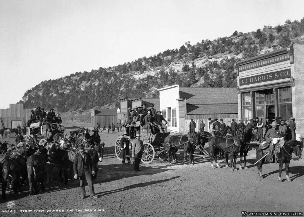 Dolores Colorado stagecoach
