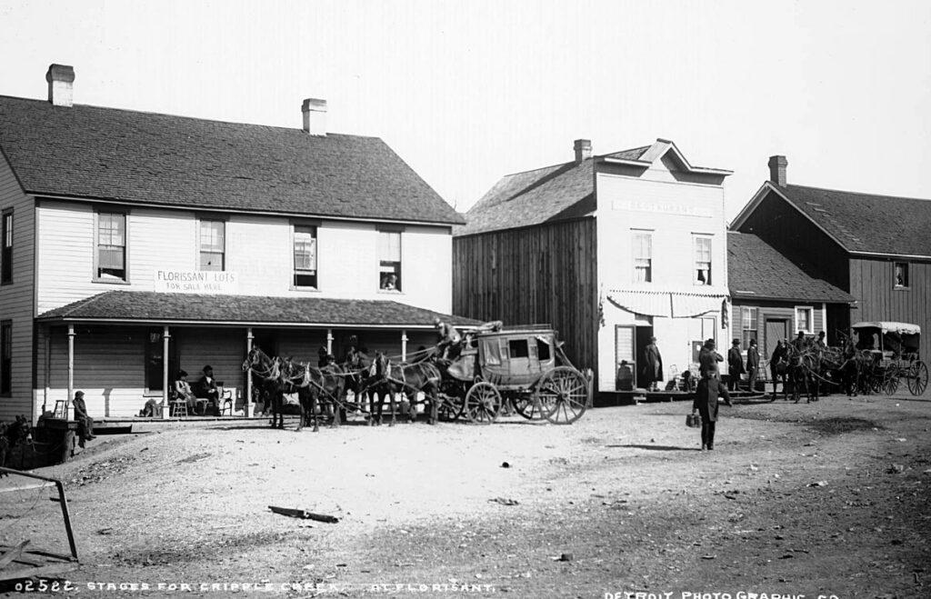 Cripple Creek Stagecoaches at Florissant